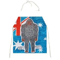 Big Foot A, Australia Flag Apron