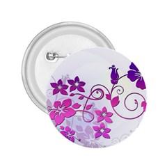 Floral Garden 2 25  Button