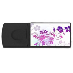 Floral Garden 2GB USB Flash Drive (Rectangle)
