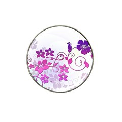 Floral Garden Golf Ball Marker 4 Pack (for Hat Clip)