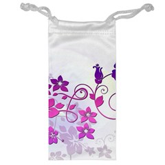 Floral Garden Jewelry Bag