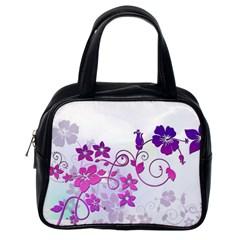 Floral Garden Classic Handbag (One Side)