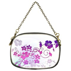 Floral Garden Chain Purse (One Side)