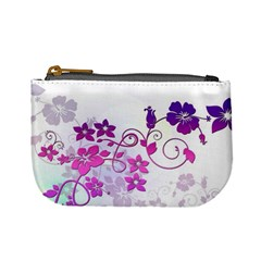 Floral Garden Coin Change Purse