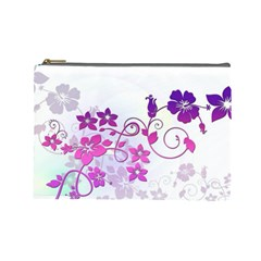 Floral Garden Cosmetic Bag (large)