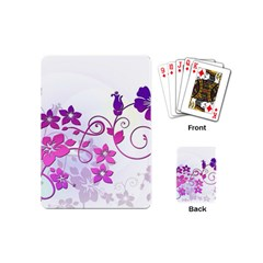 Floral Garden Playing Cards (Mini)