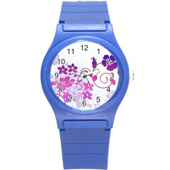 Floral Garden Plastic Sport Watch (Small)