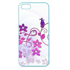 Floral Garden Apple Seamless Iphone 5 Case (color)