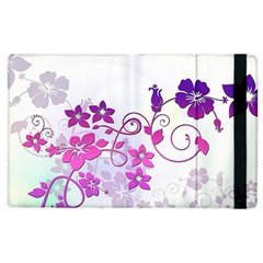 Floral Garden Apple iPad 2 Flip Case