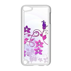 Floral Garden Apple iPod Touch 5 Case (White)