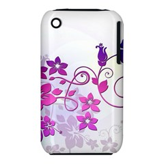 Floral Garden Apple iPhone 3G/3GS Hardshell Case (PC+Silicone)