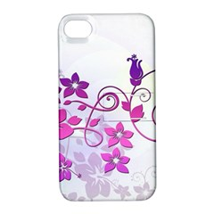 Floral Garden Apple iPhone 4/4S Hardshell Case with Stand