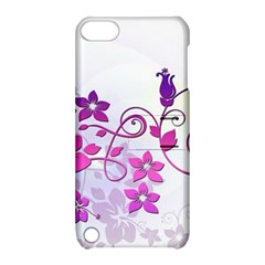 Floral Garden Apple Ipod Touch 5 Hardshell Case With Stand
