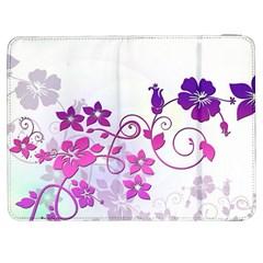 Floral Garden Samsung Galaxy Tab 7  P1000 Flip Case