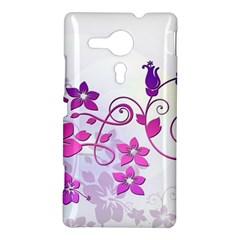 Floral Garden Sony Xperia SP M35H Hardshell Case