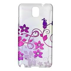 Floral Garden Samsung Galaxy Note 3 N9005 Hardshell Case