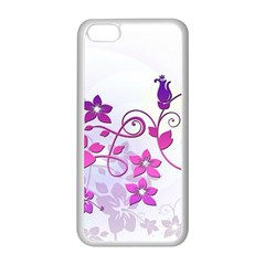 Floral Garden Apple iPhone 5C Seamless Case (White)