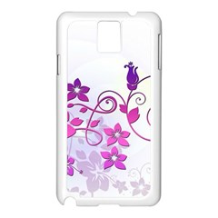 Floral Garden Samsung Galaxy Note 3 N9005 Case (White)