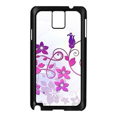Floral Garden Samsung Galaxy Note 3 N9005 Case (Black)