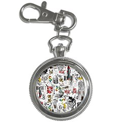 Medieval Mash Up Key Chain Watch
