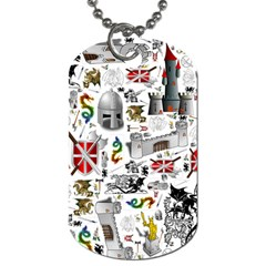 Medieval Mash Up Dog Tag (One Sided)