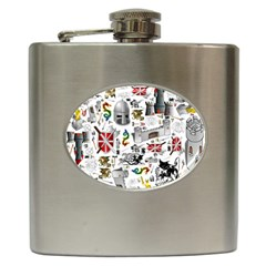 Medieval Mash Up Hip Flask