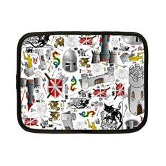 Medieval Mash Up Netbook Sleeve (small)
