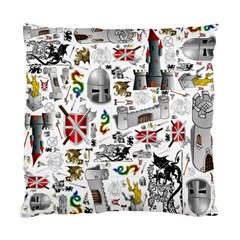 Medieval Mash Up Cushion Case (Single Sided)