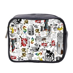 Medieval Mash Up Mini Travel Toiletry Bag (Two Sides)