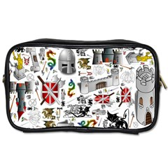 Medieval Mash Up Travel Toiletry Bag (Two Sides)