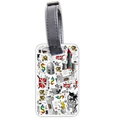 Medieval Mash Up Luggage Tag (One Side)