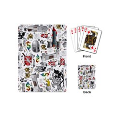 Medieval Mash Up Playing Cards (mini)