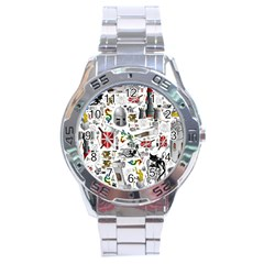 Medieval Mash Up Stainless Steel Watch