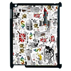 Medieval Mash Up Apple Ipad 2 Case (black)