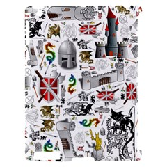 Medieval Mash Up Apple iPad 2 Hardshell Case (Compatible with Smart Cover)