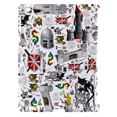 Medieval Mash Up Apple Ipad 3/4 Hardshell Case (compatible With Smart Cover)
