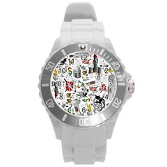 Medieval Mash Up Plastic Sport Watch (Large)