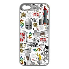 Medieval Mash Up Apple Iphone 5 Case (silver)
