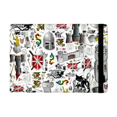 Medieval Mash Up Apple Ipad Mini Flip Case