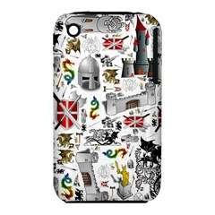 Medieval Mash Up Apple iPhone 3G/3GS Hardshell Case (PC+Silicone)