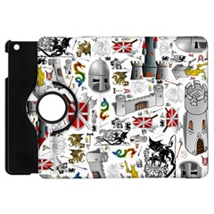 Medieval Mash Up Apple Ipad Mini Flip 360 Case