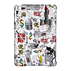 Medieval Mash Up Apple Ipad Mini Hardshell Case (compatible With Smart Cover)