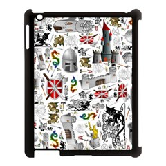 Medieval Mash Up Apple iPad 3/4 Case (Black)