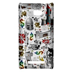 Medieval Mash Up HTC 8X Hardshell Case