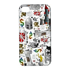Medieval Mash Up Apple Iphone 4/4s Hardshell Case With Stand