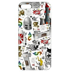 Medieval Mash Up Apple iPhone 5 Hardshell Case with Stand