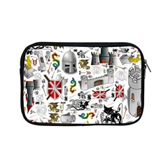Medieval Mash Up Apple iPad Mini Zippered Sleeve