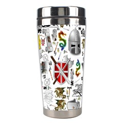 Medieval Mash Up Stainless Steel Travel Tumbler