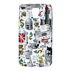 Medieval Mash Up Samsung Galaxy S4 Active (i9295) Hardshell Case