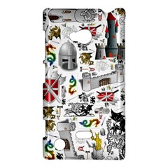 Medieval Mash Up Nokia Lumia 720 Hardshell Case